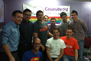 In Washington, DC volunteers helped to sort through donated clothes at Casa Ruby, an LGBT community center.