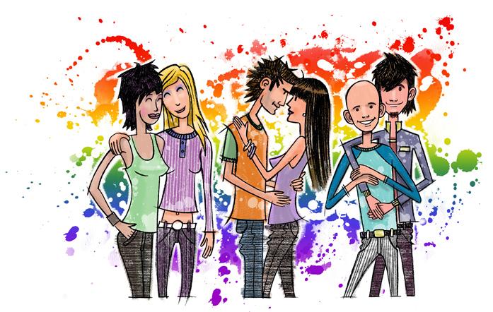 Para la Fortaleza de la Juventud:  Una guía para la juventud LGBT SUD