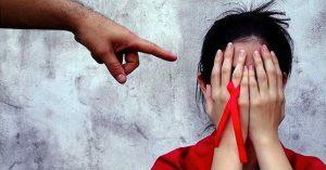 Discriminación de culpa del VIH / SIDA