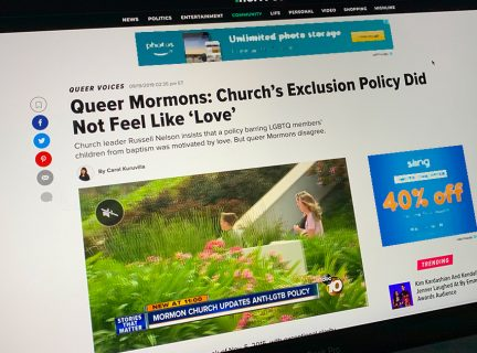 HuffPost Kitchen Response to Nelson BYU Devotional