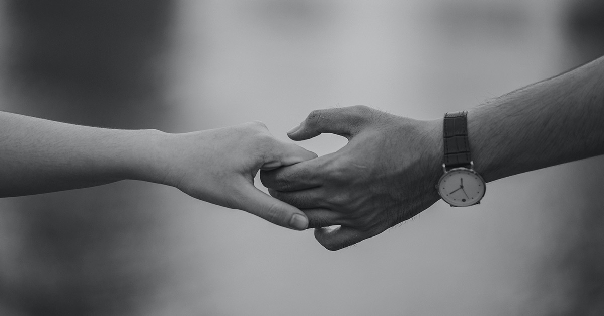 Hands Grayscale